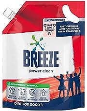 Breeze Liquid Detergent Refill, Power Clean, 1.8kg
