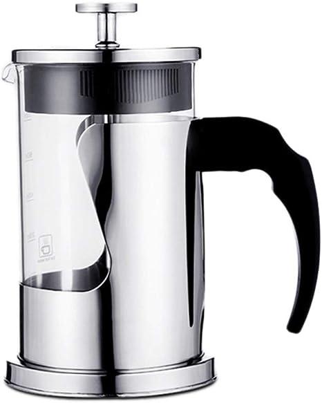LIGHTOP Lighttop - Cafetera de Prensa Manual para Hacer café o té ...