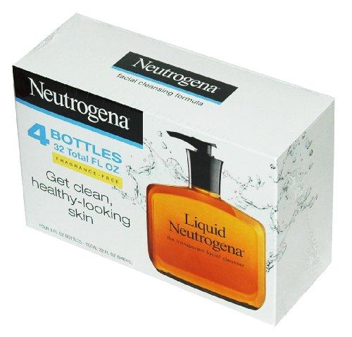 Neutrogena Fragrance Cleansing Formula bottles
