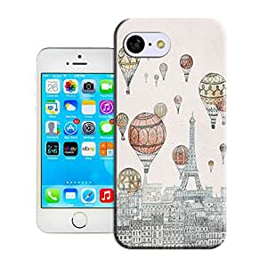 MOON WATER-Balloon and the Paris tower-iPhone 5c case