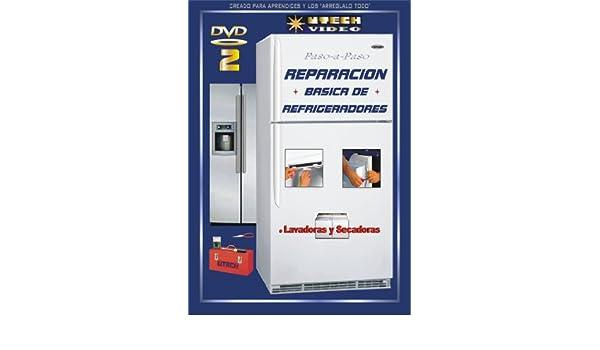 Amazon.com: UTech 4 DVD 2 REPARACION BASICA DE REFRIGERADORES + Mantenimiento de Lavadoras y Secadoras: David Moses - Paul Moses, David Moses: Movies & TV
