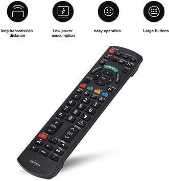 Ideal Control Remoto para Panasonic TV,Mando a Distancia para Panasonic N2QAYB000572 N2QAYB000487 EUR7628030 EUR7628010 N2QAYB000352 N2QAYB000753 TV con Función de Aprendizaje: Amazon.es: Electrónica