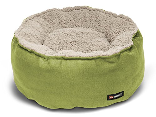 Big Shrimpy Catalina Plush Pet Bed for Cats and Dogs, Small, Leaf – Machine Washable Dog Bed with 100% Recycled Polyester Fiber Filling, For Small Dogs or Cats Review