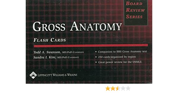 Gross Anatomy Clinically Relevant Anatomy Board Review Series