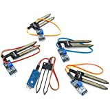 5 X Soil Hygrometer Humidity Detection Module Moisture Water Sensor for Arduino