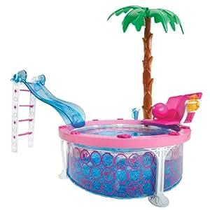 Mattel W3159 Barbie Glam Pool - Piscina para Barbie