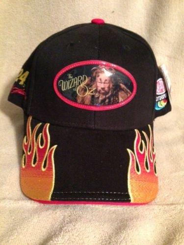 NASCAR Youth Boys Size Jeff Gordon #24 Wizard of Oz Dupont Motorsports with Orange Yellow Flames Hat Cap One Size Fits Most OSFM Chase - Gordon Cap Kids Jeff