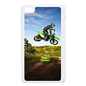iPod Touch 4 Case White Motocross nqyo