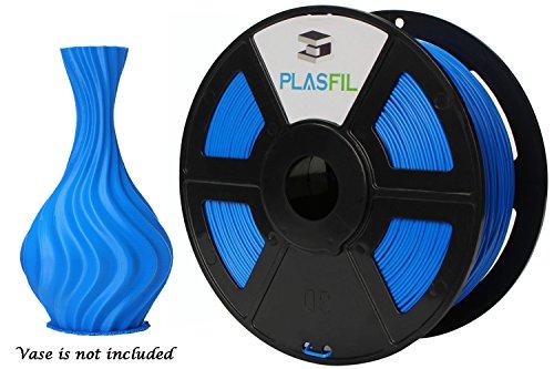 Da Vinci Et Costumes (PLASFIL Blue 3D Printer Filament, Vacuumed Sealed 1.75mm PLA PRO (PLA+) Printing Filament, 1KG Spool, +/- 0.03 mm Dimensional Accuracy, Low Odor)