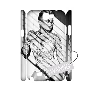 Miley Cyrus Samsung Galaxy Note2 N7100 3D Case Cover, Miley Cyrus DIY Case for Samsung Galaxy Note2 N7100 at WANNG