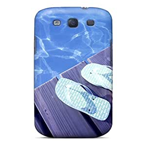 Tpu Fashionable Design Beach Shoes Rugged Case Cover For Galaxy S3 New