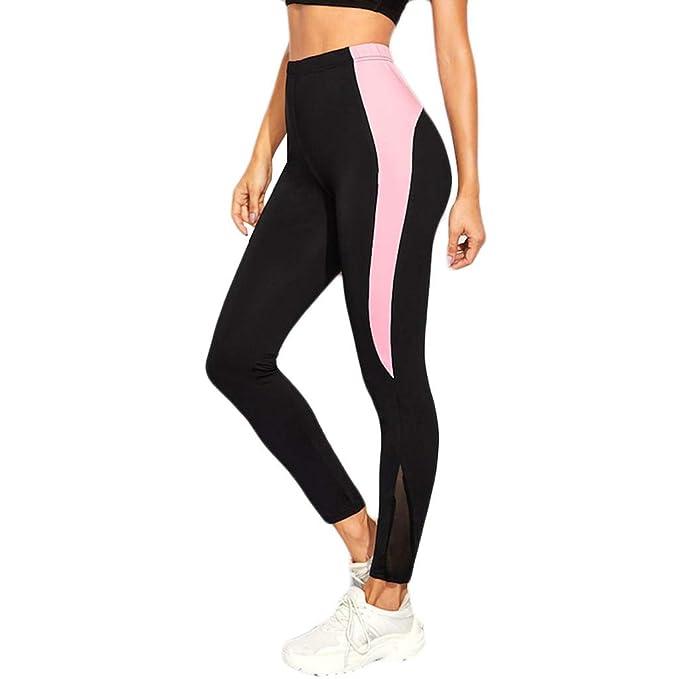 MXJEEIO- Leggings Yoga Mujer Pantalones Deportivos Mujer ...