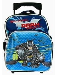 Warner Bros. Batman the Dark Knight Kid Size Luggage Rolling backpack