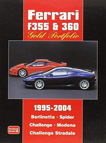 Ferrari F355 & 360 Gold Portfolio - Ferrari Gold