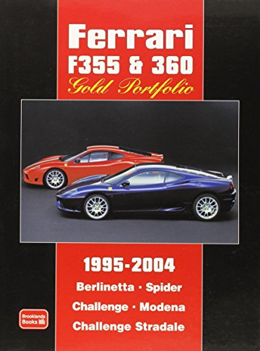 2000 Ferrari - Ferrari F355 & 360 Gold Portfolio 1995-2004