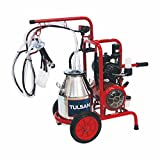 Portable Milking Machine/ Classic Type/ Double/ by Tulsan (Goat)