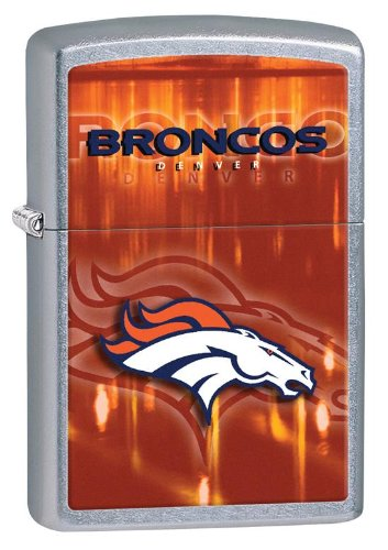 Nfl Zippo Denver Broncos Lighter (Personalized Zippo Lighter NFL Denver Broncos - Free Laser Engraving)