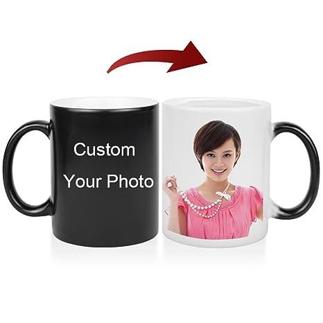 amazon com liwuyou custom mug cup printing with picture text photo