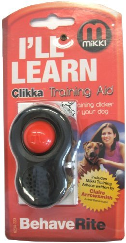 Mikki Clikka Dog Training Aid for Clicker Obedience Training for Dog and Puppy