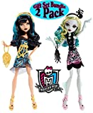 (US) Monster High Frights, Camera, Action Black Carpet Lagoona Blue and Cleo de Nile Dolls, Pack of 2