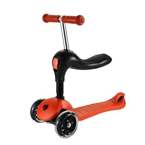 Amazon.com: Minmin Scooter - Patinete infantil triple en uno ...