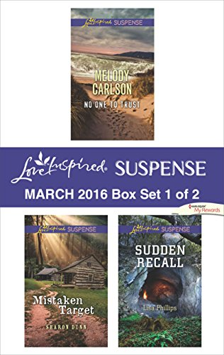 book cover of Love Inspired Suspense March 2016 - Box Set 1 of 2