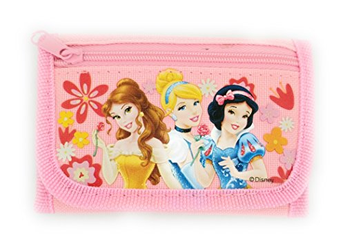 Disney Princess Authentic Licensed Trifold Wallet (Pink)