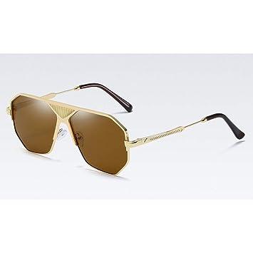 TYJYTM Gafas De Sol Cuadradas para Hombre para Mujer con ...