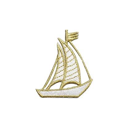 42c586ad9562 Amazon.com: UINKE Sailing Nautical Cloth Stickers Iron on ...