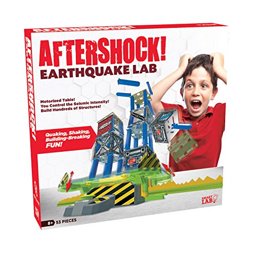 SmartLab Toys Aftershock Earthquake Lab Set (53 Piece)