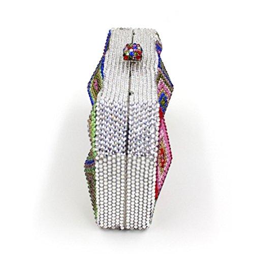 Pour Luxe B De Diamants Diamant Femmes En De à Sac Dos Sac Banquet Main à De wAxHqFIp