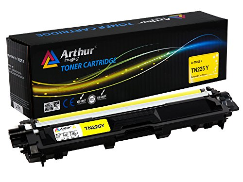 (Arthur Imaging Compatible Toner Cartridge Replacement for Brother TN225 (Yellow, 1-Pack))