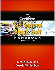 The Certified Six Sigma Black Belt Handbook, 3rd Edition, (With CD-ROM) [Hardcover] [Jan 01, 2017] Benbow and Kubiak