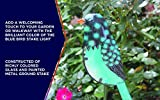 Moonrays 96369 Solar Garden Blue Bird Stake Light