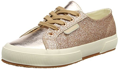 Gold 2750 Femme Baskets Superga Doré Rose Multicolore 916 Orange Microglittercotmetcoccow pPqnTxAR