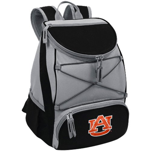 NCAA Auburn Tigers PTX Insulated Backpack Cooler, Black, - Auburn Tigers Backpack