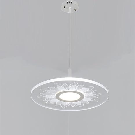 LED lámpara de techo redonda lámpara de techo Panel ...