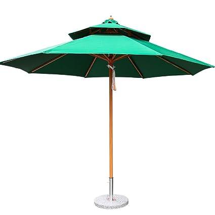 GEXING-Umbrella Paraguas ,al Aire Libre del Patio Y Paraguas De La Columna De