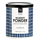 Product review for NordicNordic Bilberry Powder, Powerful Antioxidant Superfood (112 Gram)