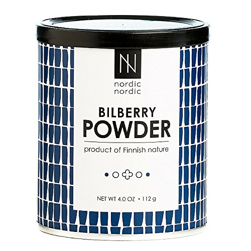 NordicNordic Bilberry Powder, Powerful Antioxidant Superfood (112 Gram) For Sale