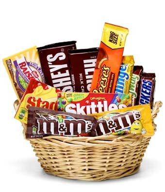Everyone's Favorite Candy Basket