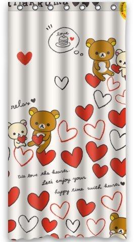 Standard-Store Custom Cute Rilakkuma Shower Curtain 36