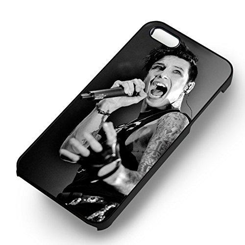 Noir Veil Brides Vocalist pour Coque Iphone 6 et Coque Iphone 6s Case (Noir Boîtier en plastique dur) Q4W8VC