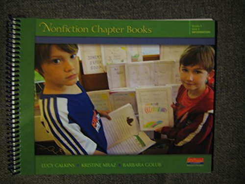 Units of Study in Opinion, Information, and Narrative Writing Grade 1: Nonfiction Chapter Books