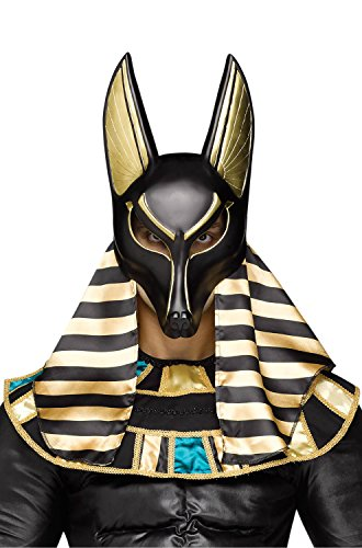 Anubis the Egyptian God Mask - Egyptian Gods Costume