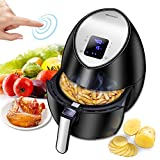 Electric Air Fryer, Blusmart Power Air Frying Technology with Temperature and Time Control LED Display 3.4Qt/3.2L 1400W Fry Basket For Sale