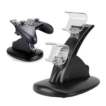 Garsent - Cargador de Mando para PS4, Dual Shock 4 Dock ...