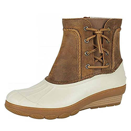 Sperry Women's Ankle Tide Wedge Top Boots Wool Sperry Saltwater Sider 0xq6wB6f