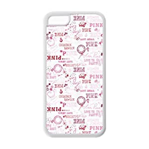 Diycase 5/5s cell phone case covers, Love Pink Hard TPU Rubber uD1ddnaWc8v Cover case cover for iPhone 5/5s