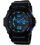 Boys Girls Kids Children Digital Sports Watches - Multifunction 50M Waterproof LED Light